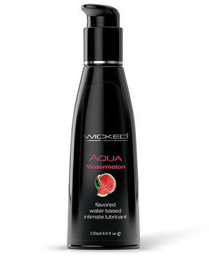Wicked Sensual Care Aqua Waterbased Ludricant - 4 Oz Watermelon