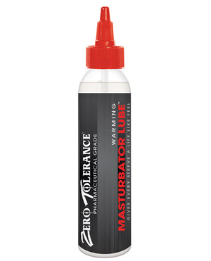 Zero Tolerance Warming Masturbator Lube - 4 Oz