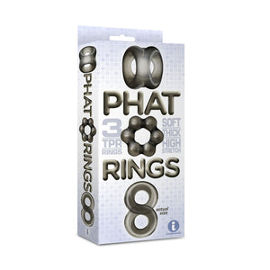 The 9's Phat Cock Rings - Smoke