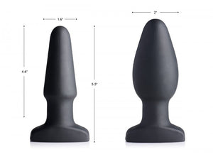 Swell 10x Silicone Inflatable & Vibrating Anal Plug