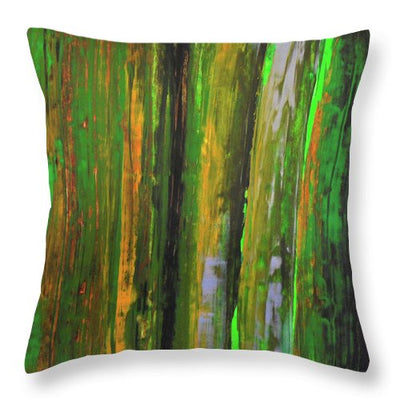 207th Street - Throw Pillow