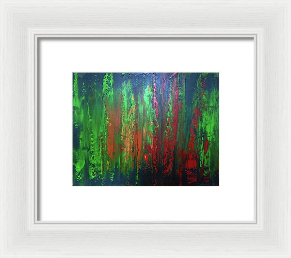 Grass Clippings Part 2 - Framed Print