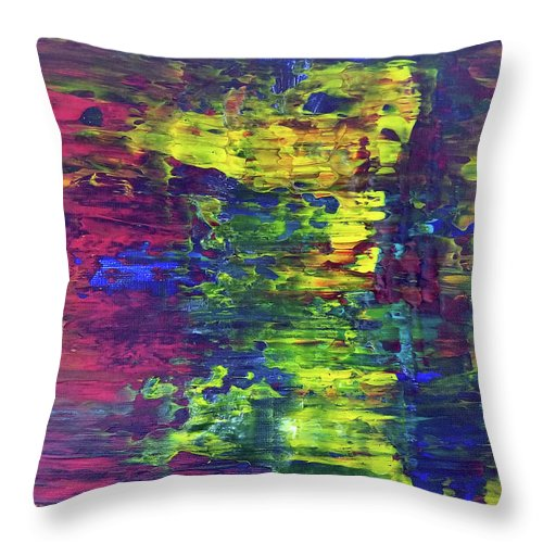 Quiet Part Of My Life - Throw Pillow