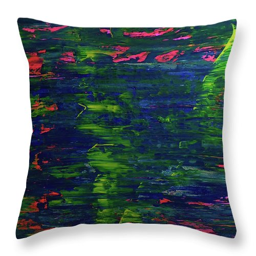 Sometimes So Hard To Say - Throw Pillow