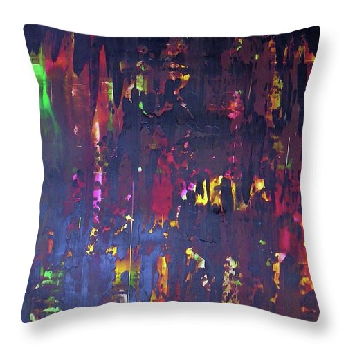 Synchronized Swimmers - Throw Pillow