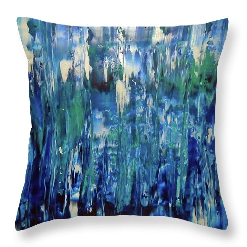 When I Close My Eyes - Throw Pillow
