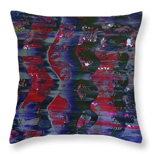 When People Wore Pajamas And Lived Life Slow - Throw Pillow