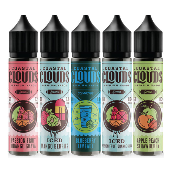 Coastal Clouds E-Liquid - 60ml