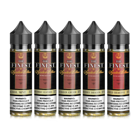 The Finest Signature E-Liquid - 60ml x 2