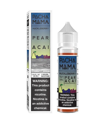 Huckleberry Pear Acai by Pachamama - 60ml