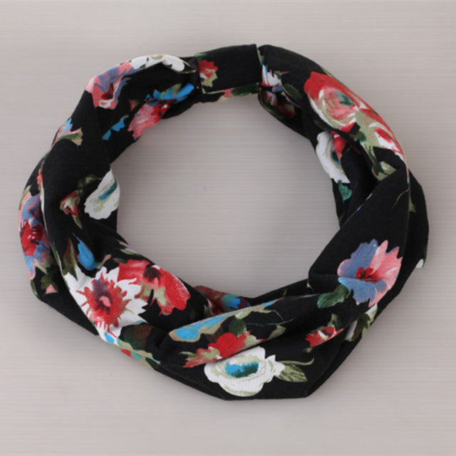 Flower headband Fashion Retro Women