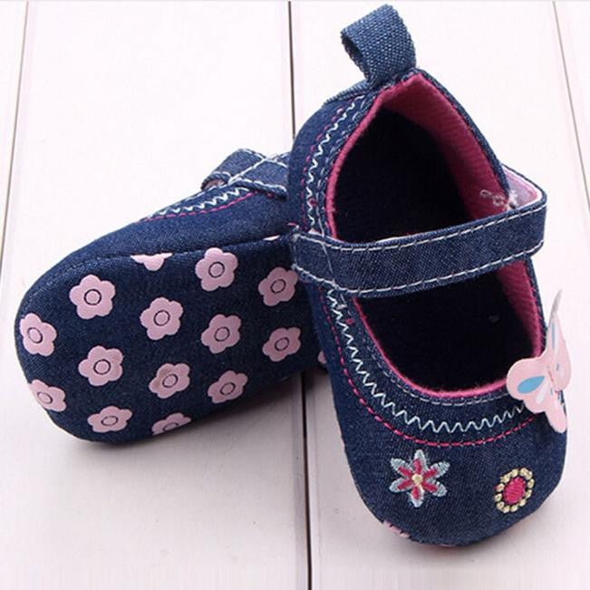 Fashion Baby Shoes Butterfly Soft Sole Toddler Shoes