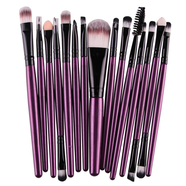 MAANGE Pro 15Pcs Makeup Brushes
