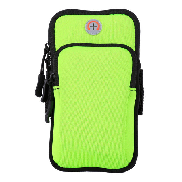 Sport Armband Case Zippered Fitness