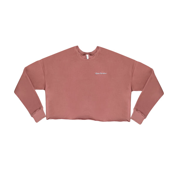 Crop Top script sweater