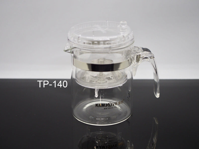 KAMJOVE Press Art Teapot - GreenValley Tea