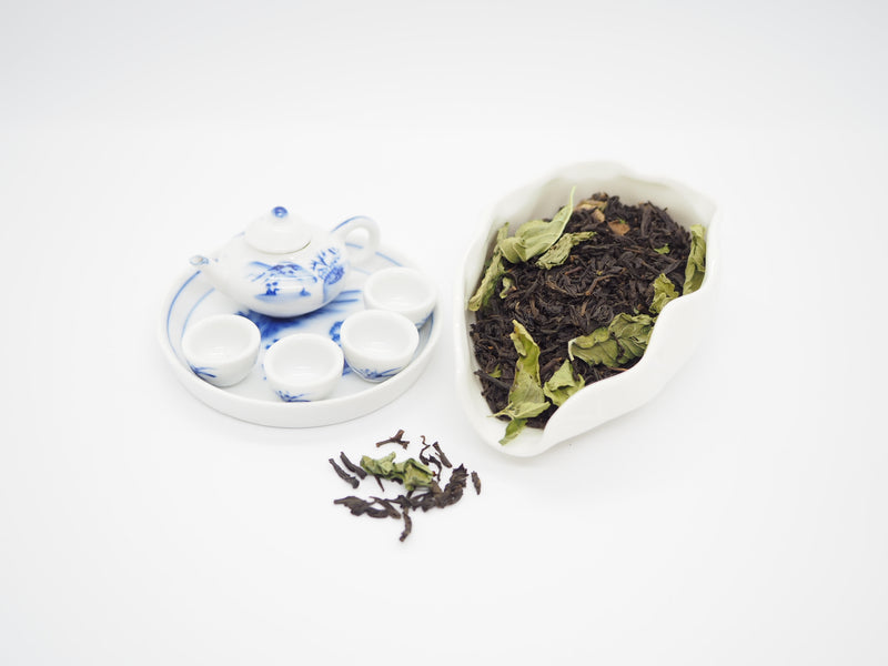 Minty - Mint Black Tea - GreenValley Tea