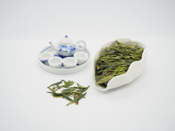 Organic Long Jing Tea - GreenValley Tea