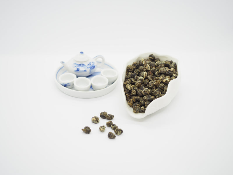 Premium Jasmine Pearl Green Tea - GreenValley Tea