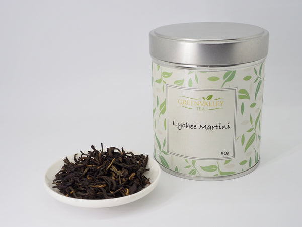 Lychee Martini - Lychee Black Tea - GreenValley Tea