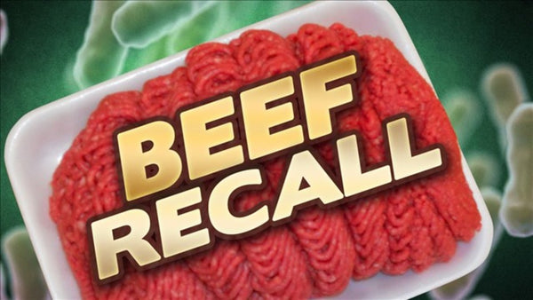 "Over 24,000 Pounds of Beef RECALLED, ""Unfit For Human Consumption"""