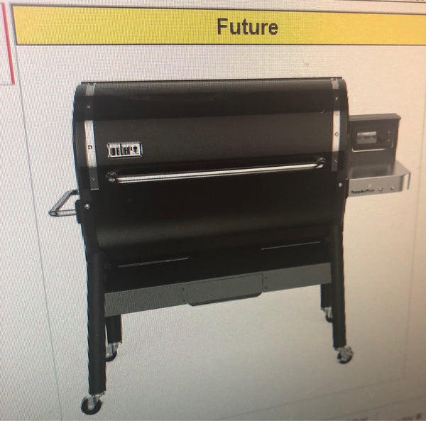LEAKED: WEBER PELLET GRILL COMING SOON