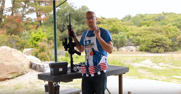 Man Cooks Bacon With AR-15 Rifle, MUST SEE!
