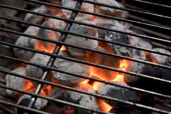 CHARCOAL GRILLING TASTES BETTER THAN GAS. IT'S JUST SCIENCE.