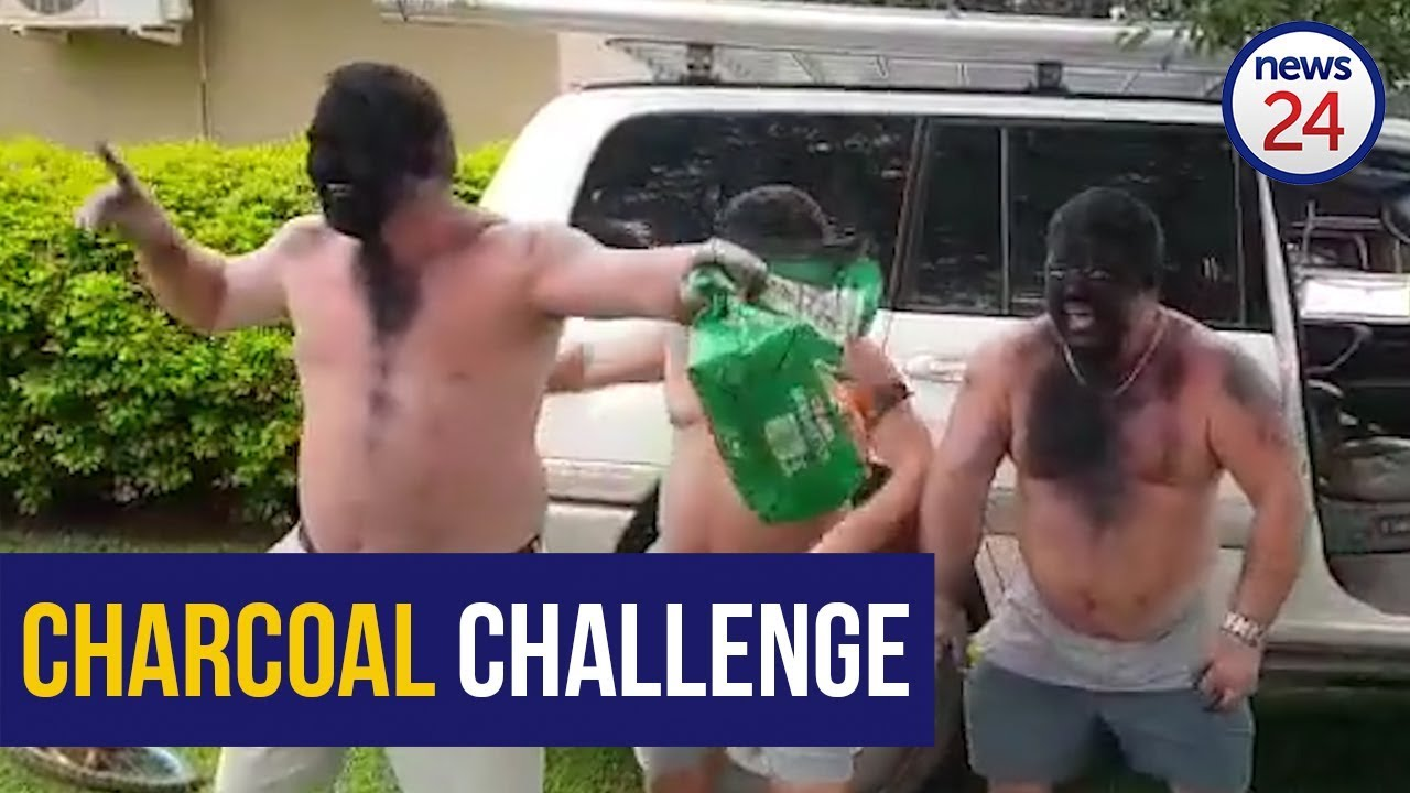 Charcoal challenge takes Facebook by storm posing the question: 'is it racist?'