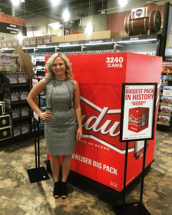 BUDWEISER IS SELLING A 3,240 RACK. Yes, It's Real.