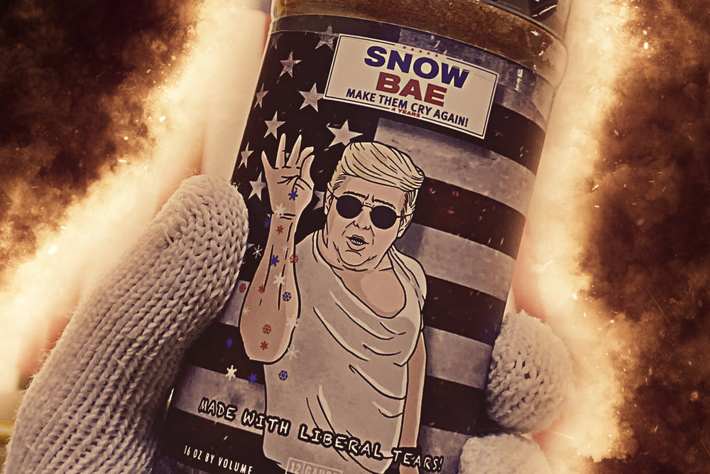 snow bae bbq kettle freaks dry rub