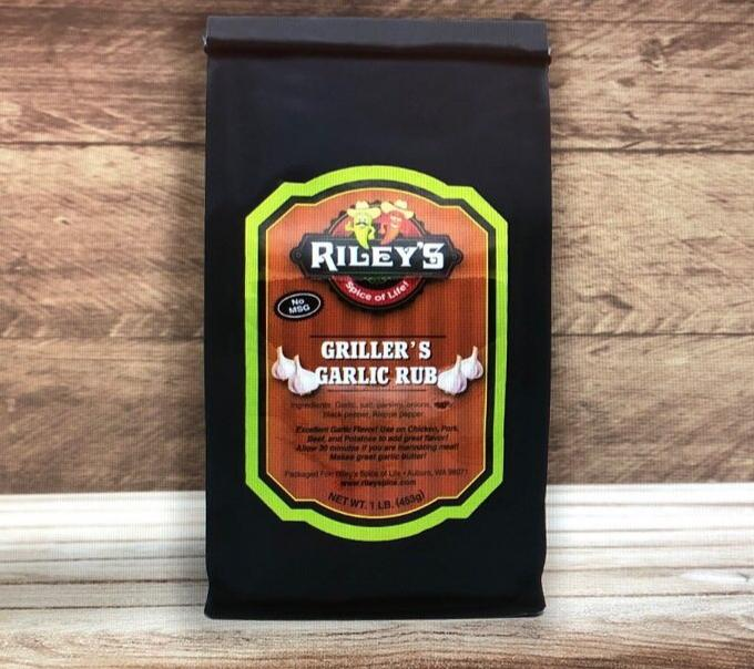 Griller's Garlic Rub - Kettle Freaks