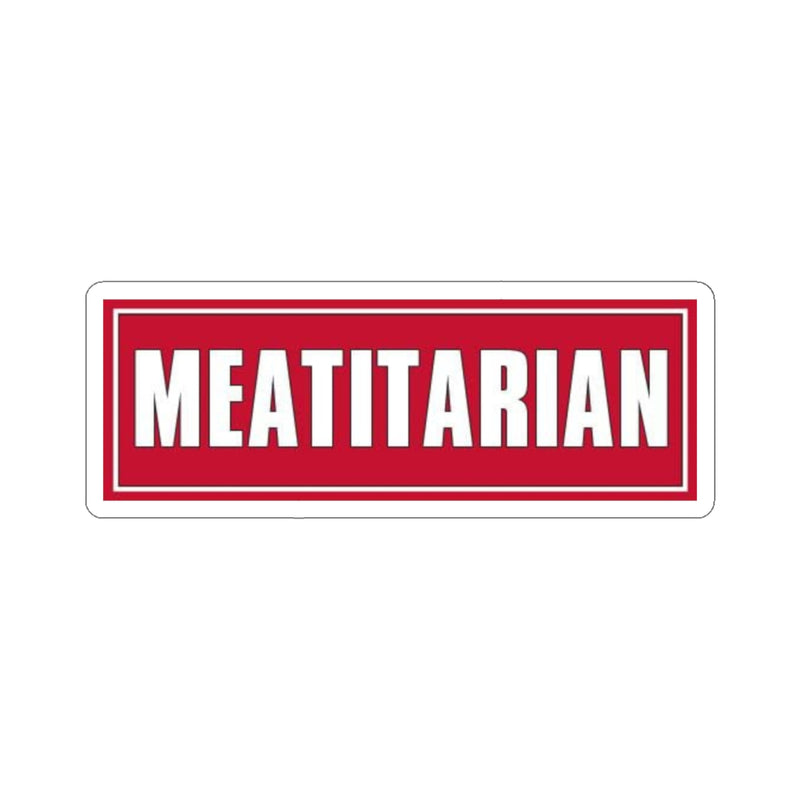 Meatitarian Stickers