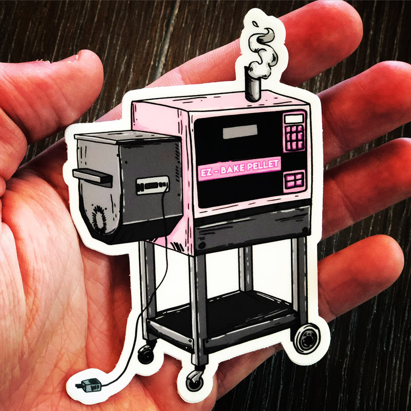 EZ-Bake Pellet Stickers - Kettle Freaks