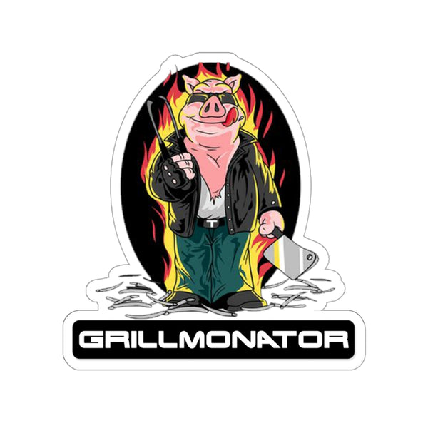 Grillmonator Stickers