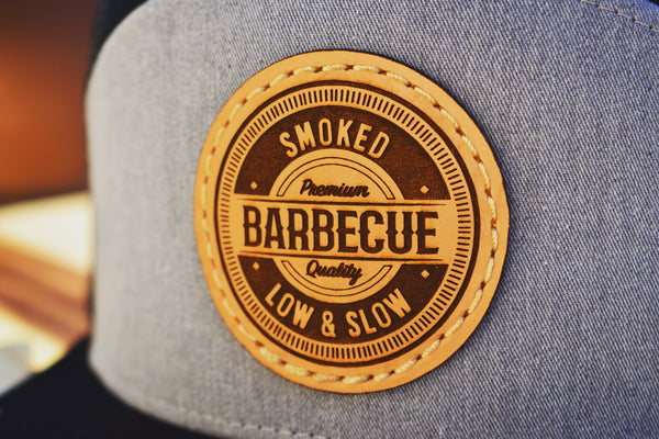 Smoked Barbecue Leather Patch Hat - Kettle Freaks
