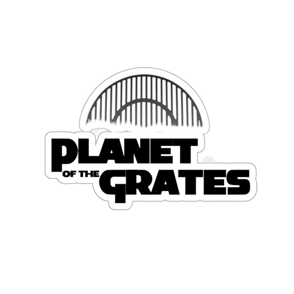 Planet of the Grates Stickers