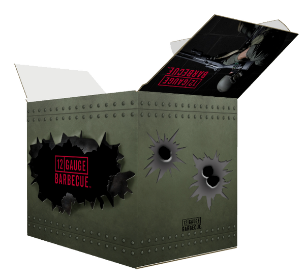 12 GAUGE BARBECUE™ AMMO BOX OF COMPETITION PORK RUB - Kettle Freaks