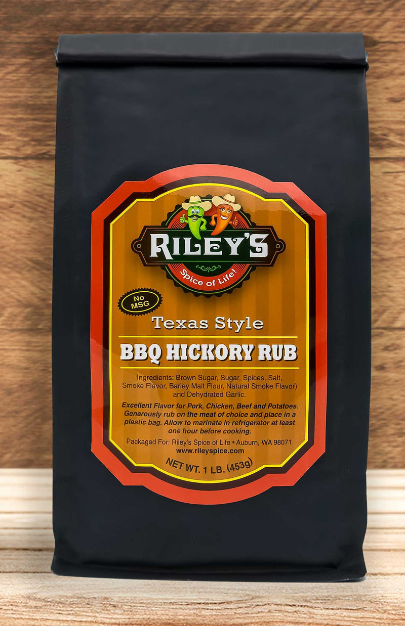 BBQ Hickory Rub - Kettle Freaks