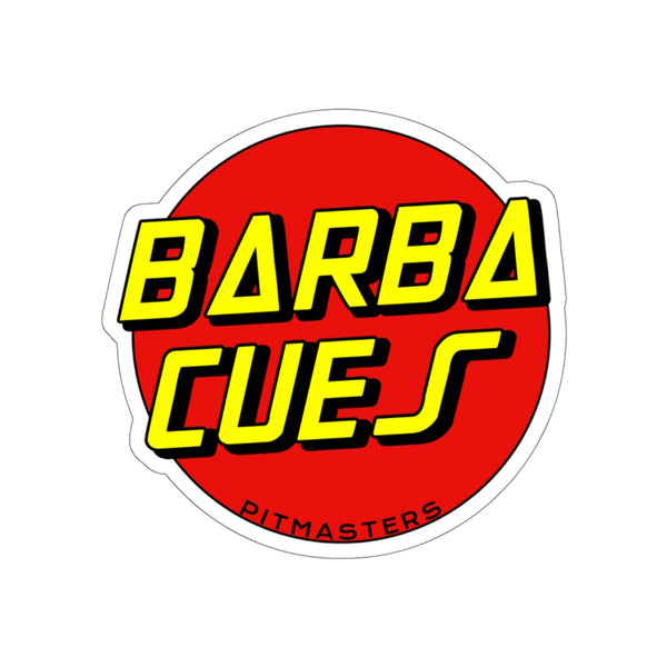 BARBA CUES STICKERS