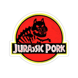 Jurassic Pork Stickers