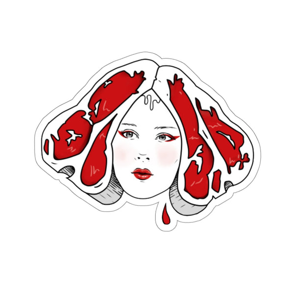 Lady Steak Stickers