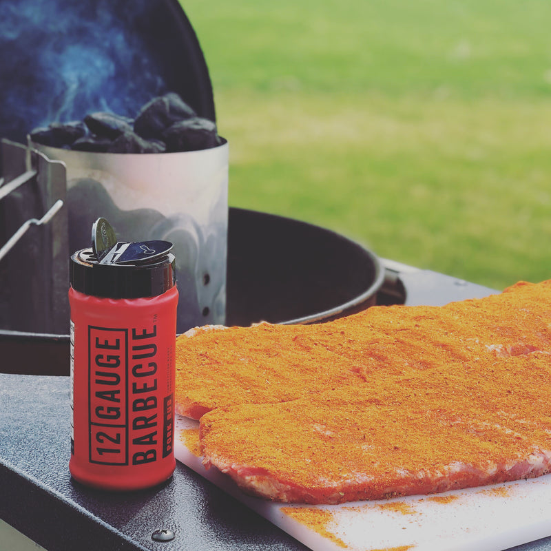 12 Gauge Barbecue™ | BBQ Seasoning & Competition Pork Dry Rub