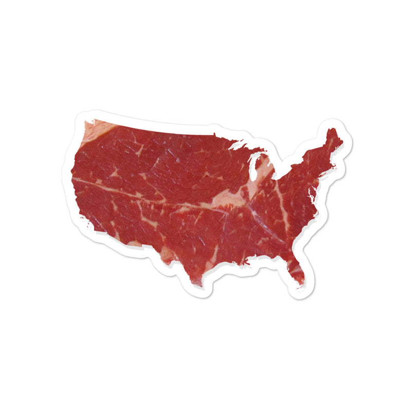 Meat America Stickers - Kettle Freaks