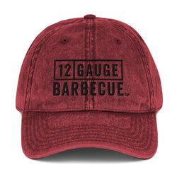 12 GAUGE BARBECUE™ Vintage Cotton Twill Cap