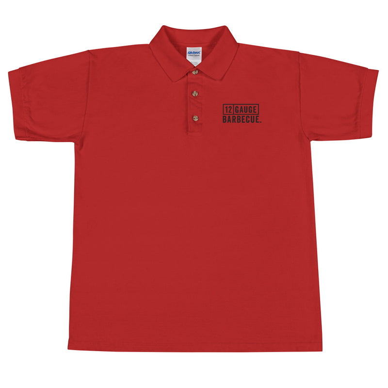 12 GAUGE BARBECUE™ Embroidered Polo Shirt - Kettle Freaks