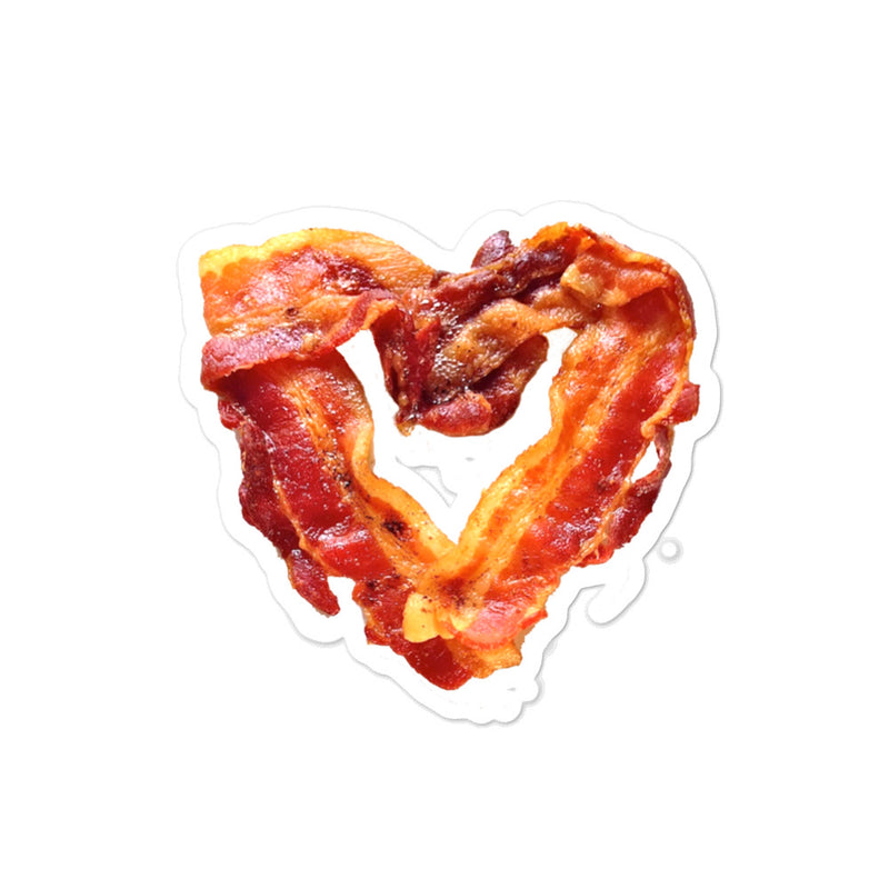 Bacon Heart Sticker - Kettle Freaks