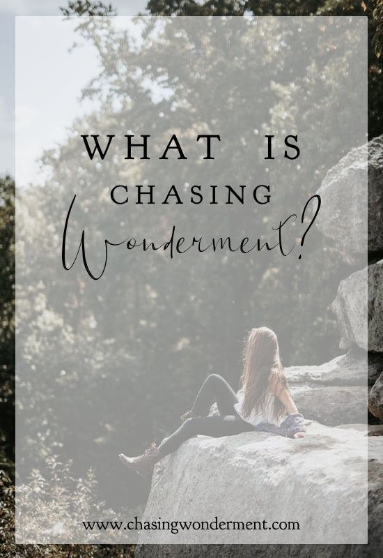 What is Chasing Wonderment?