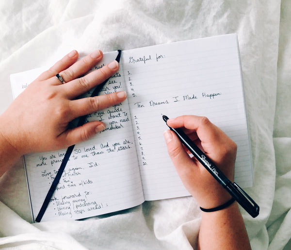 6 things you should write in your journal every morning