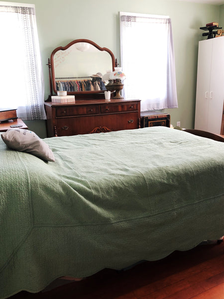 Take a House Tour of our tiny, DEBT-FREE House - master bedroom
